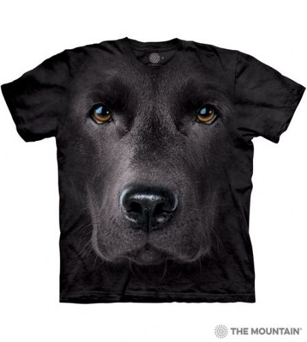 Black Lab Face T-shirt | The Mountain®